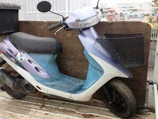 故障した原付バイクの引き取り・処分(千葉県習志野市)