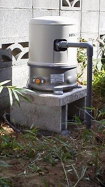 井戸ポンプ取り付け工事