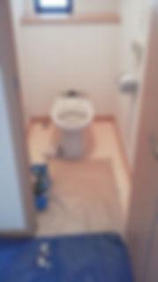 トイレの工事・便座カバー交換