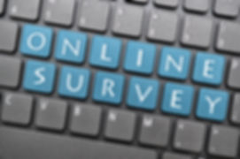 On line survey on keyboard.jpg
