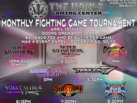 Monthly Fighting Games