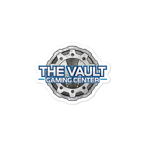 Bubble-free stickers, Vault Gamer Blue!