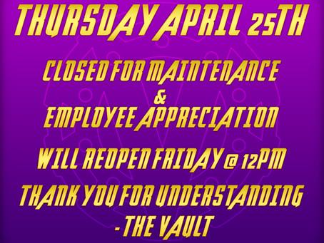 Maintenance/Employee Appreciation