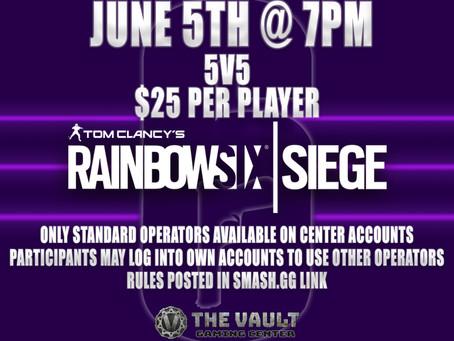 Rainbow 6 Siege!