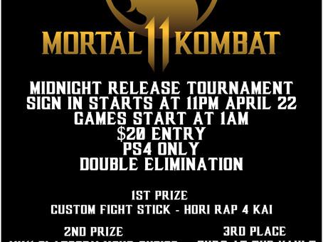 Midnight Release Tournament!