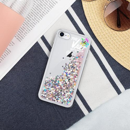 Liquid Glitter Phone Case, Covid Light!