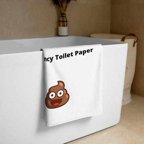 Towel, Emergency Toilet Paper