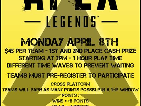 Apex Legends cont..