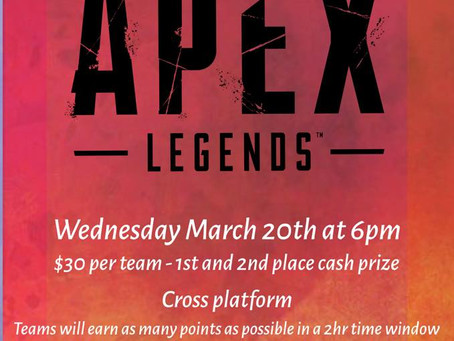 Apex is HERE!