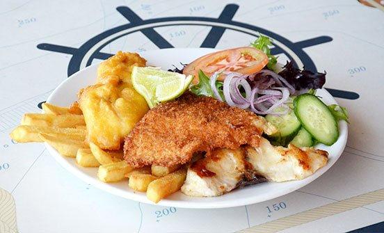Dine your catch Fusion Restaurant