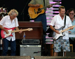 Albert Lee and Eric Clapton