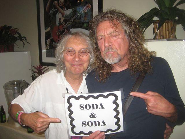 Albert Lee and Robert Plant