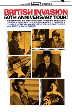 British Invasion 2014/15 tour poster