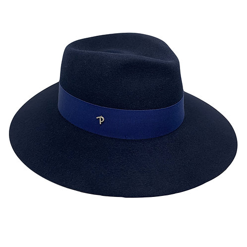 NAVY ANDREA HAT BY PANIZZA