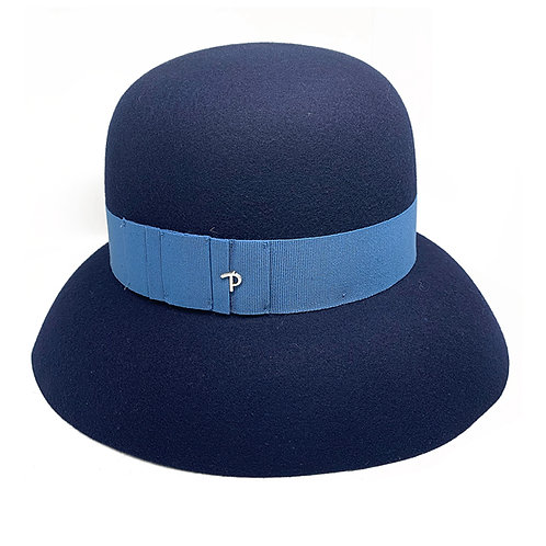 NAVY MARGO HAT BY PANIZZA