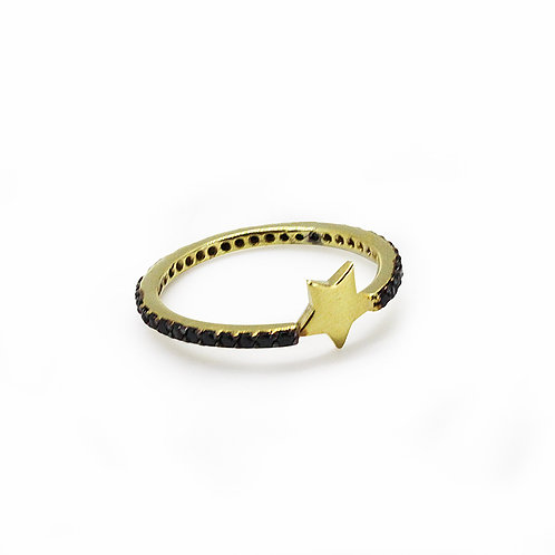 STAR GOLD RING BY TUTU