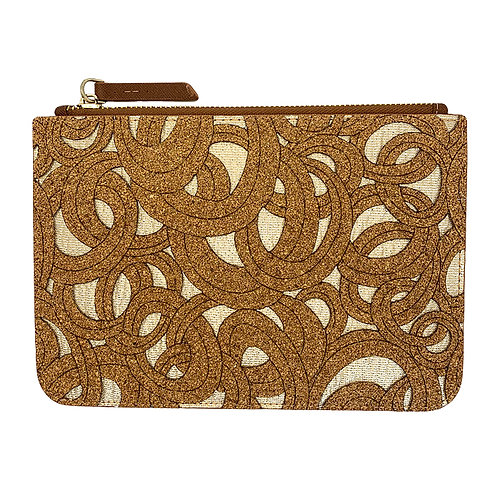 ELOISA CORK CLUTCH BY NY-CORK