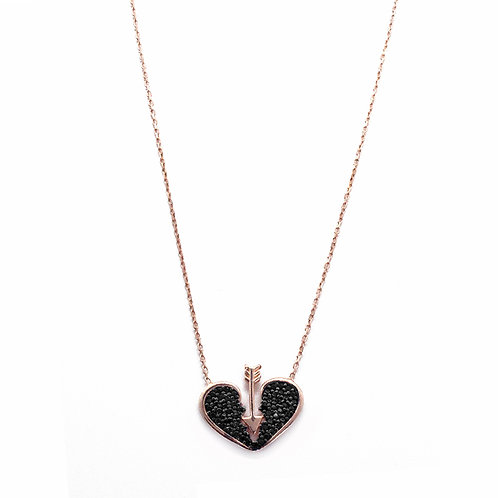 CUPIDO ROSE GOLD NECKLACE BY TUTU