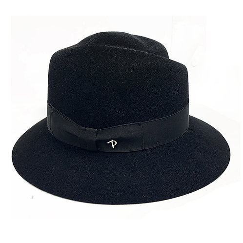 BLACK ASIA HAT BY PANIZZA