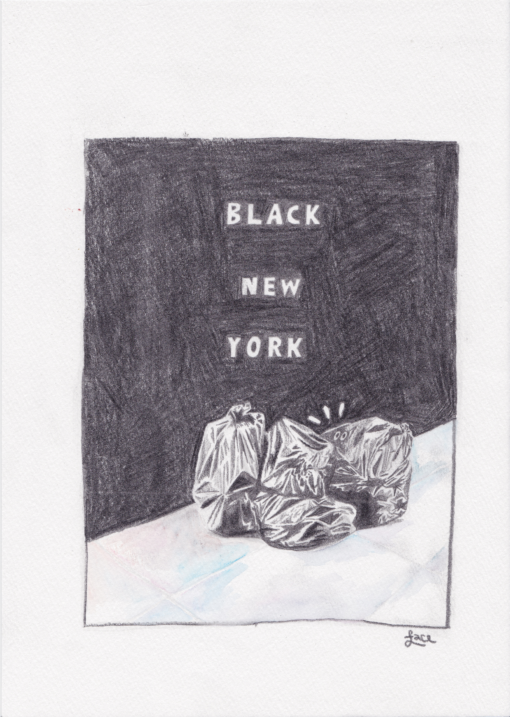 BLACK NEW YORK