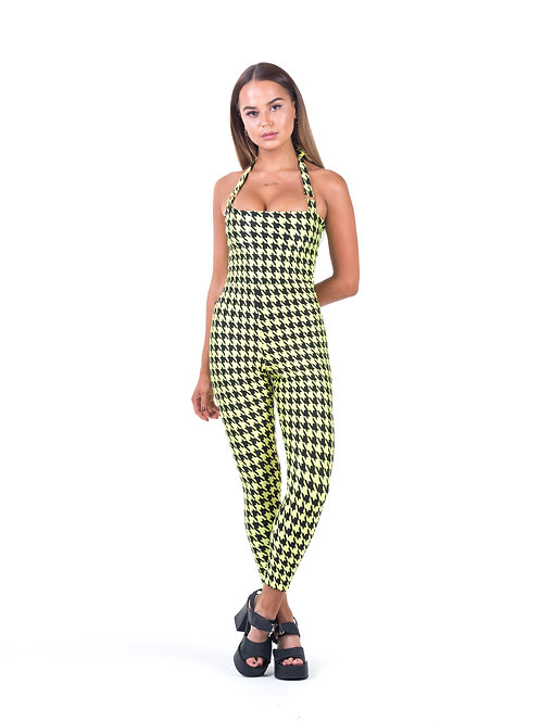 Yellow Hound Dawg Dion Jumpsuit