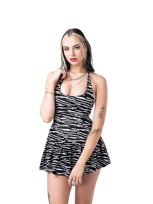Zebra Crossing Selma Dress