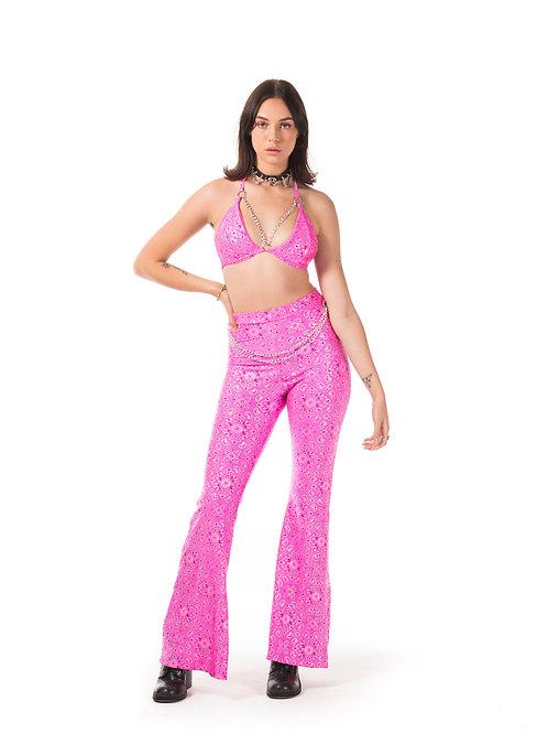 Paisley Pink Chloe Flares