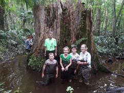 Young Marines of Pensacola at Big Stump Mud Run, Camp Le Noche