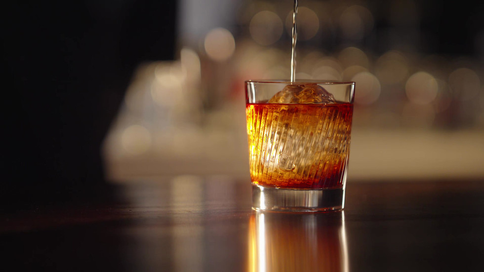 Negroni step by step