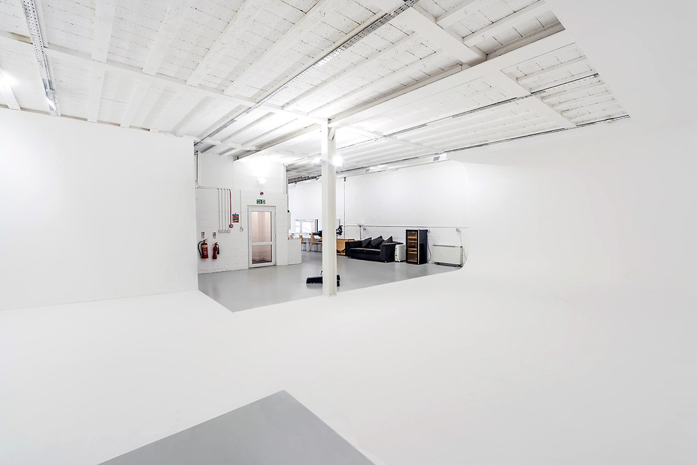 Hire studio for photography and film located in North Acton, West London at RGB Studio Hire