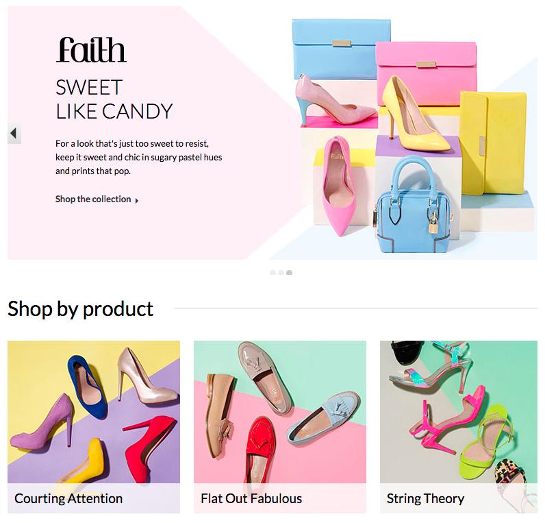 Faith SS15 collection - creative photography