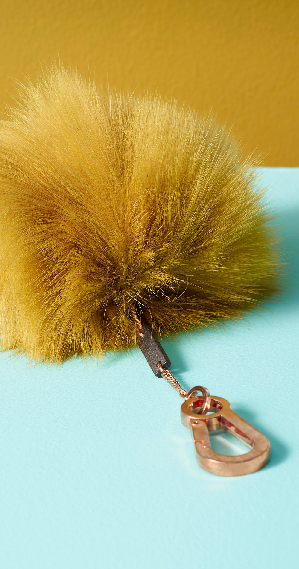 Creative product photography of a fur purse shot at RGB Digital