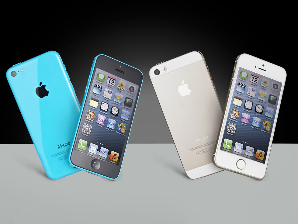 iPhone 5s & 5c composits