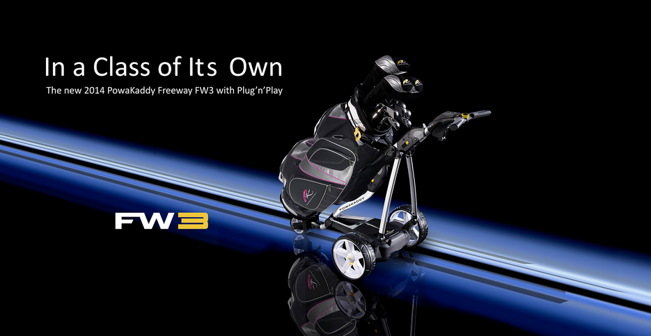 PowaKaddy FW3, FW5 - advertising photography