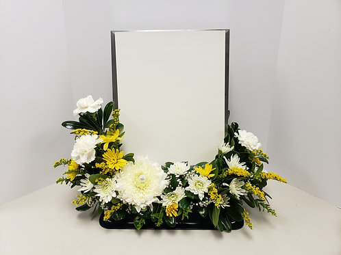 Frame Floral Arrangement