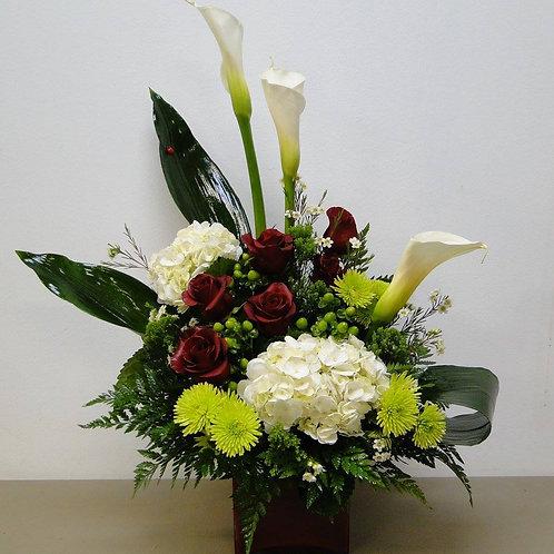 Sympathy Vase Arrangement