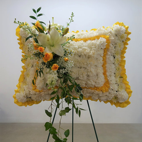 Standing Flower Pillow