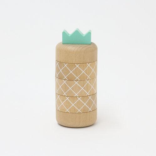 Aloha Pineapple Topple Toy
