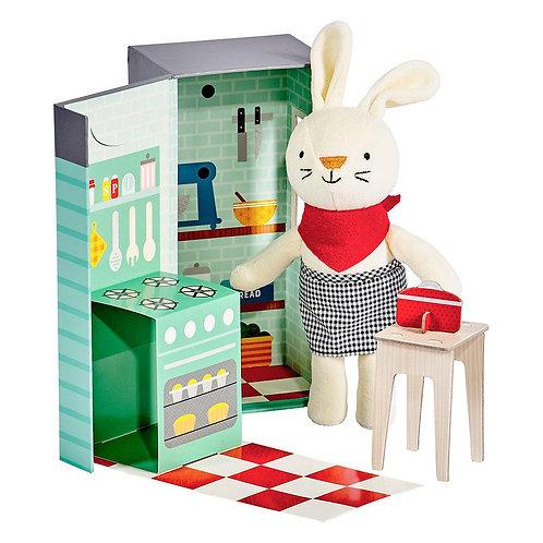 Rubie The Rabbit Animal Play Set