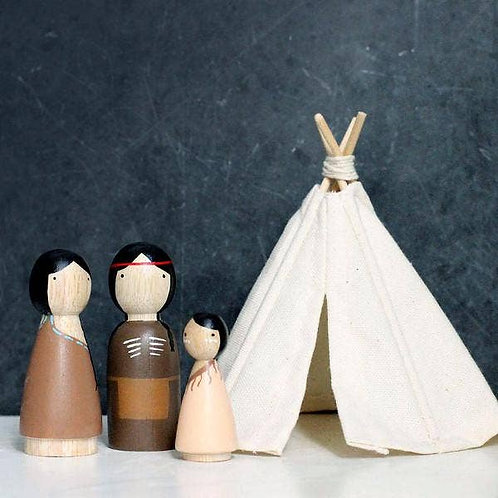 Native Americans + Teepee