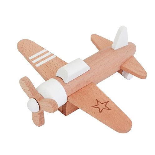 Hikoki Pull-Back Propeller Plane