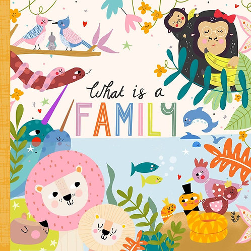 What is a Family? (Board Book)