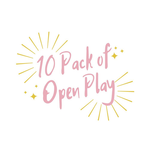 10 Pack of Open Play