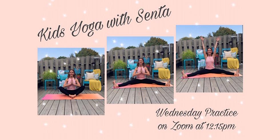 Virtual Kids Yoga (4 week session)