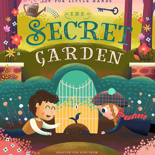 Lit for Little Hands: The Secret Garden (Board Book)