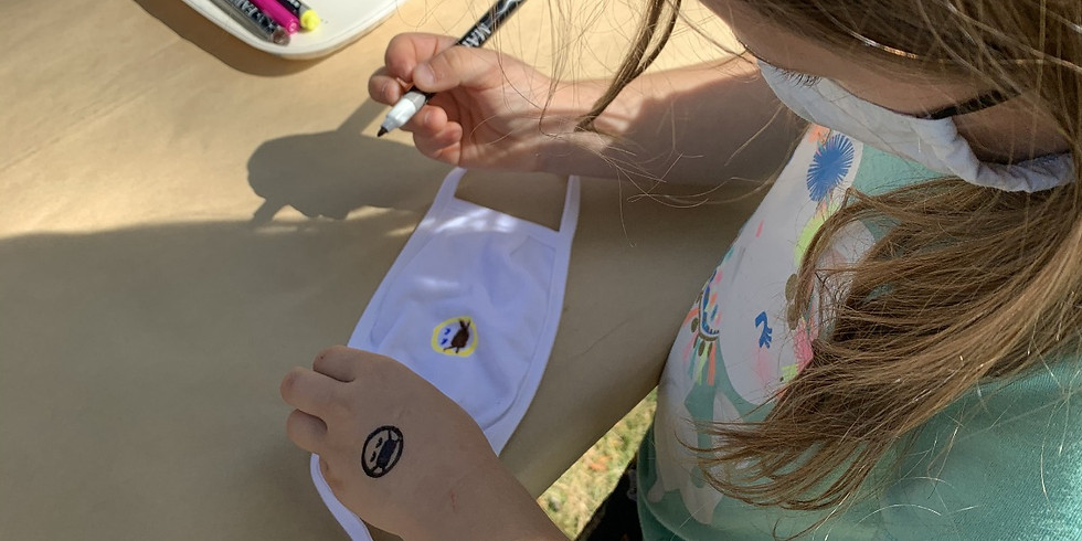 Mask Decorating Outdoor Event in Shorewood (FREE)