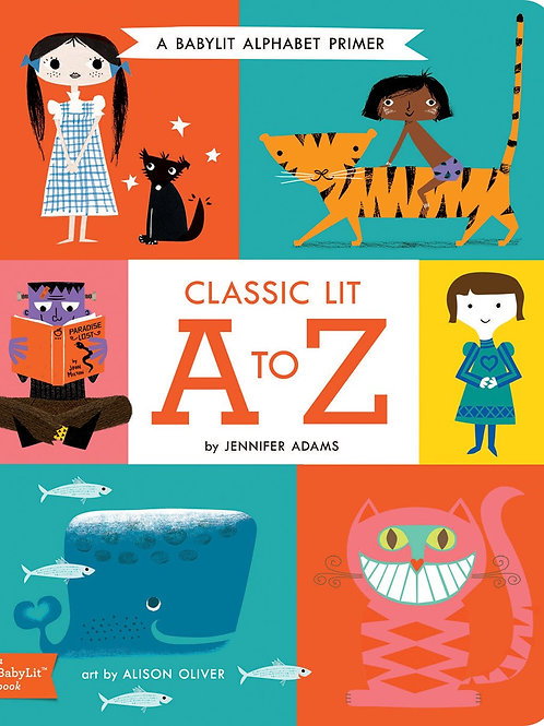 Classic Lit A to Z: A BabyLit? Alphabet Board Book