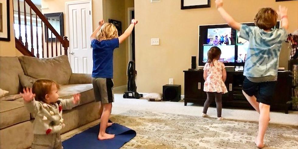 Yoga for Kids, Fantasy Fun Theme (6 week virtual session)