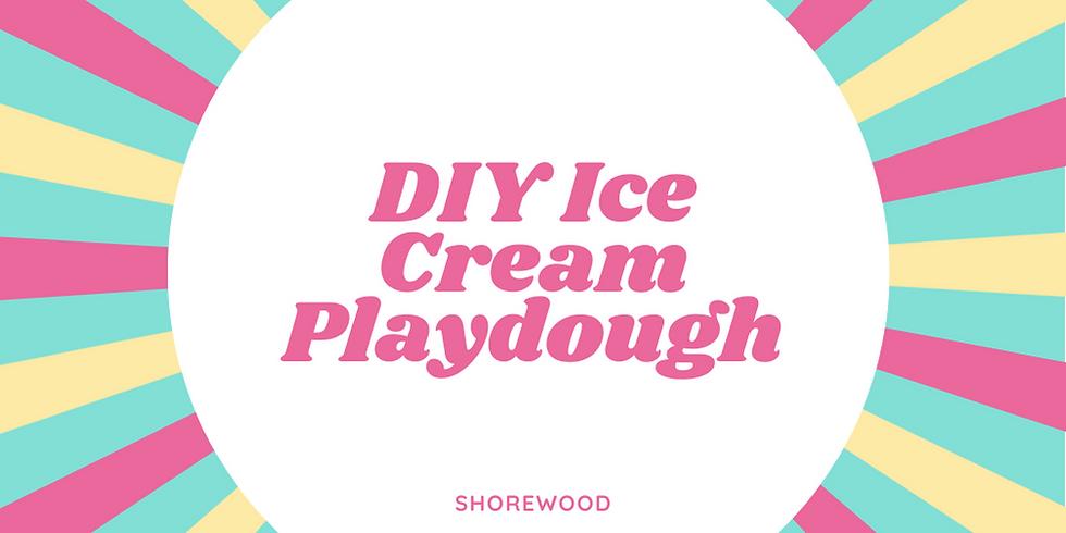 DIY Ice Cream Playdough Workshop