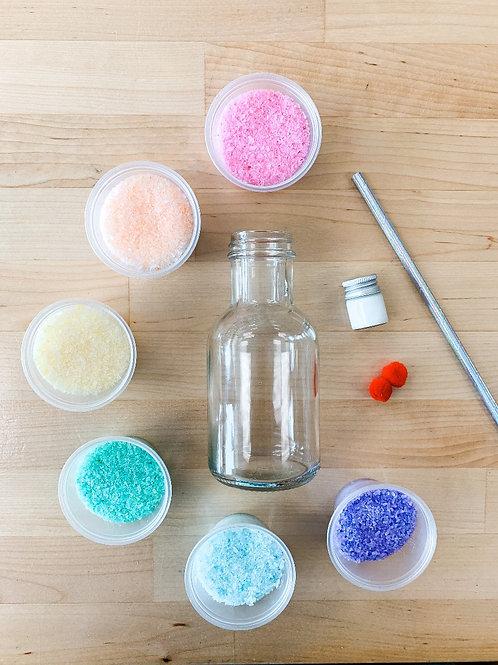 Rainbow Sand Smoothies